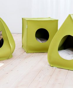 Luxury Mood Felt Cat Cave Bed