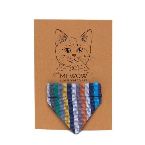 Kikoy Marine Stripe Cat Bandana