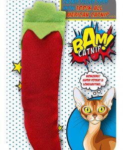 BAM Catnip Chilli Pepper Cat Toy