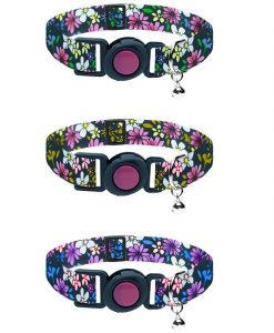 Cat Circus Flower Safety Cat Collar