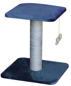 Velvet Luxe 2 Tier Cat Scratcher