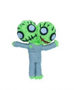 Zane The Zombie Catnip String Doll Cat Toy