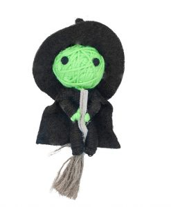 Willow The Witch Catnip String Doll Cat Toy