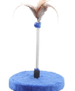 Cat Circus Feather Spring Cat Toy