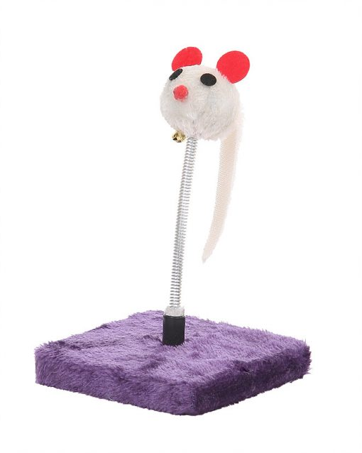 Cat Circus Mouse Spring Toy