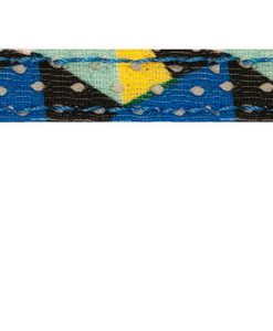 Sotnos Blue Geometric Cat Collar