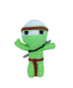 Takeshi The Ninja Catnip String Doll Cat Toy