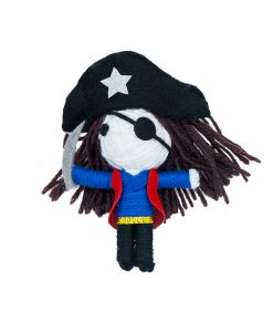 Bob The Pirate Catnip String Doll Cat Toy