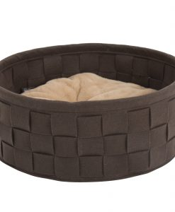 Habitat Felt Cat Bed Brown