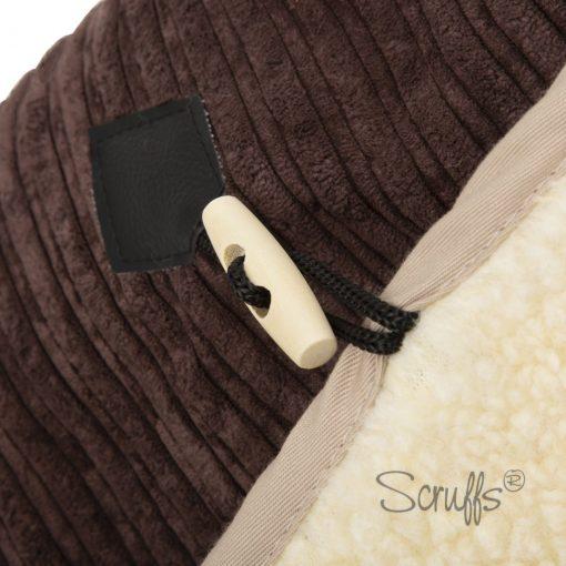 Chocolate & Tan TeePee Cat Bed