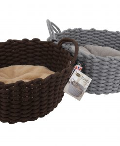 Haven Rope Basket Cat Beds