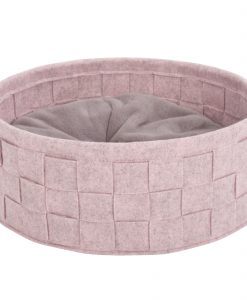 Habitat Felt Cat Bed Pink