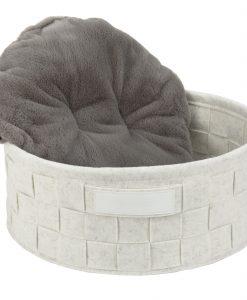 Habitat Felt Cat Bed White