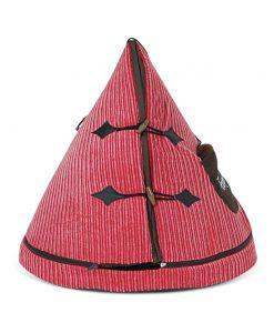 Pink & Brown TeePee Cat Bed