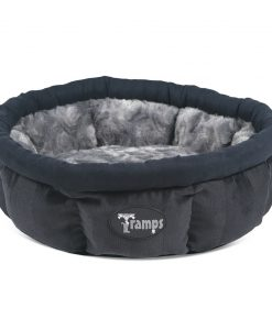 Black AristoCat Ring Cat Bed