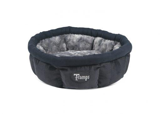 Black AristoCat Ring Cat Bed