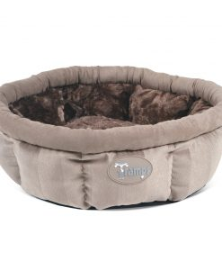 Tan AristoCat Ring Cat Bed