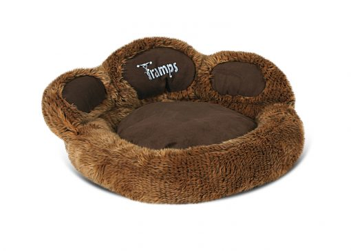 Brown Bear Paw Cat Bed