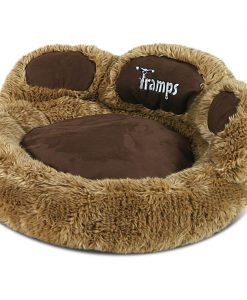 Teddy Bear Paw Cat Bed