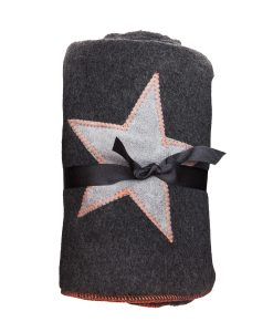 Fur Friend Fleecy Star Cat Blanket Greys