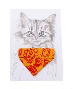 Paisley Cat Bandana