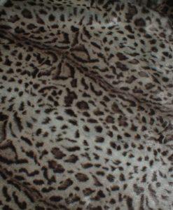 Luxury Ocelot Faux Fur Cat Blanket