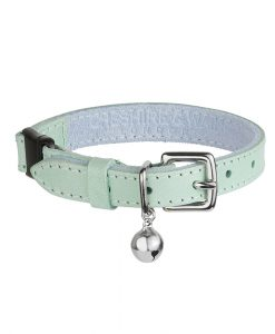 Luxury Mint Green Cat Collar