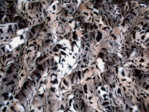 Luxury Wild Cat Faux Fur Cat Blanket