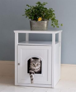 Lords & Labradors Cat Washroom + Rosewood Litter Tray