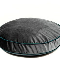 Luxury Elephant Velvet Cat Cushion Bed