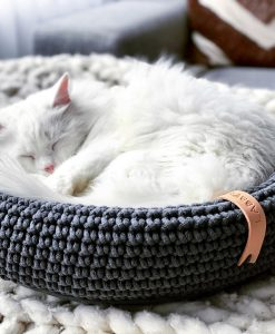 Coco Cat Bed Anthracite Grey by Labbvenn
