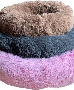 Pink Relaxation Bed For Cats