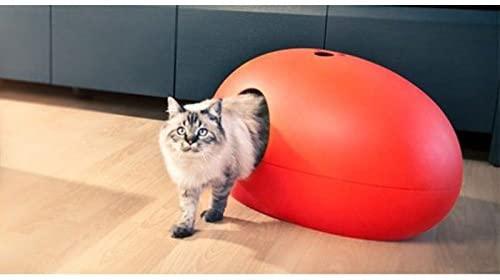 Luxury Red Poopoopeedo Cat Litter Box