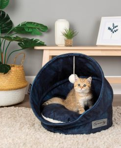 Kensington Cat Bed - Navy