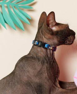 Eyes Vegan Breakaway Cat Collar