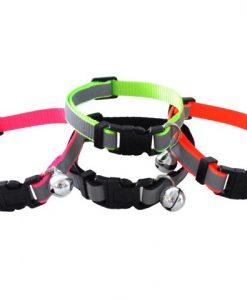 Kitty & Co Neon Reflective Cat Collars