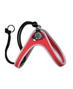 Tre Ponti Easy Fit Liberta Red Cat Harness with No Escape Adjustable Closure