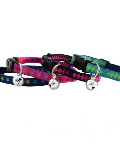 Hem and Boo Trendy Mix Cat Collars