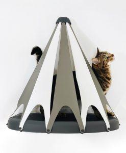 Catipilla Wall-Mounted Cat Shelf & TeePee Tent
